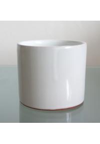 Cilindro cerámica blanco...